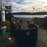 Photo taken at Dobbs Ferry Waterfront Park by randy k. on 3/11/2016