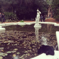 "Photo taken at Jardín Botánico ""Carlos Thays"" by Lauren V. on 7/5/2013"