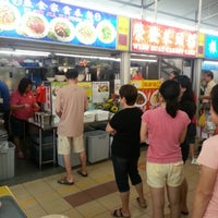 Photo taken at Kovan Hougang Market & Food Centre by Pierce Q. on 10/21/2012