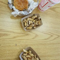 Photo taken at Five Guys by Jennifer B. on 4/23/2016