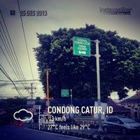 Photo taken at Perempatan Ring Road Gejayan by Eshape B. on 12/25/2013