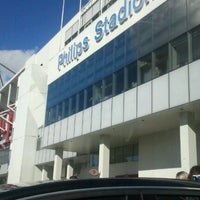 Photo taken at Philips Stadium by Felipe L. on 10/7/2012