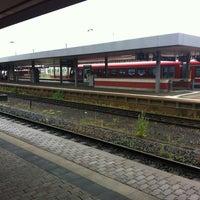 Photo taken at Saarbrücken Hauptbahnhof by Lamy on 7/3/2013