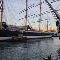 Photo taken at South Street Seaport by Aiman Q. on 5/17/2013