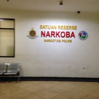 Photo taken at Polres Metro Jakarta Timur by Wahyu W. on 4/16/2014