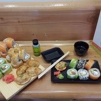 Photo taken at Mikan Sushi Santiago by Mikan Sushi Santiago on 10/16/2015