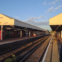 Photo taken at Kingston Railway Station (KNG) by Miguel R. on 10/3/2012