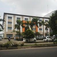 Photo taken at SMA Kusuma Bangsa by Indra G. on 4/25/2014