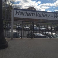 Photo taken at Metro North - Harlem Valley / Wingdale Train Station by John M. on 10/27/2014