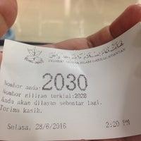 Photo taken at Pejabat Agama Islam Daerah Kuantan by MIZZ J. on 6/28/2016