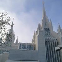 Photo taken at San Diego California Temple by Al D. on 3/16/2013