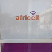 Photo taken at Africell  - Garden City by Allans on 7/6/2015