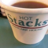Photo taken at Hot Stacks Pancake House by Despina Y. on 10/12/2014