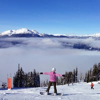 Photo taken at Whistler Blackcomb Mountains by Victor N. on 2/11/2013