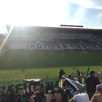 Photo taken at BSFZ Arena - Südstadt Stadion - Trenkwalder Arena by Ralph E. on 8/20/2016