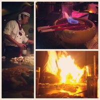 Photo taken at Kobe Japanese Steakhouse & Sushi Bar by Sasha S. on 2/16/2013