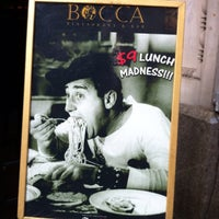 Photo taken at Bocca Restaurant by Sasha S. on 12/28/2012