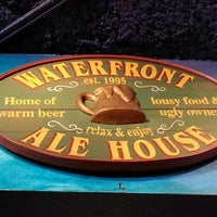 Photo taken at Waterfront Ale House by Qbrad W. on 2/21/2013