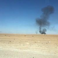 Photo taken at Aéroport de Hassi Messaoud (HME) by Savas C. on 12/15/2015