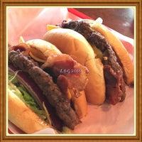 Photo taken at Olive Burger by Liz G. on 5/30/2016