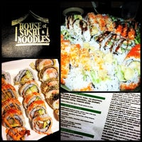Photo taken at House of Sushi & Noodles by Ryan M. on 6/15/2013