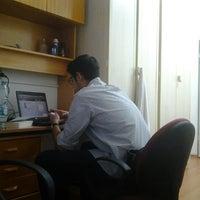 Photo taken at Bilkent 77. Yurt by Mehmet A. on 9/20/2012