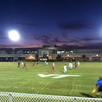 Photo taken at Thompson Field by Joelle C. on 10/23/2012
