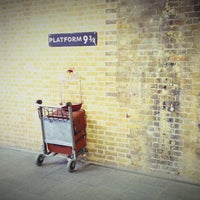 Photo taken at Platform 9¾ by James M. on 2/26/2013