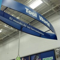 Photo taken at Lowe's Home Improvement by Audrey W. on 11/22/2012
