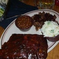 Photo taken at Corky's BBQ by Danielle L. on 10/25/2012