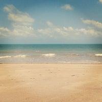 Photo taken at Praia Azul by Lucas M. on 2/10/2013