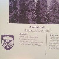 Photo taken at Alumni Hall by Jennifer K. on 6/16/2014