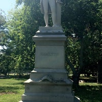 Photo taken at Alexander Hamilton Statue by Taylor on 6/25/2016