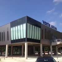 Photo taken at Voith-Arena by Pappklappe on 8/31/2013