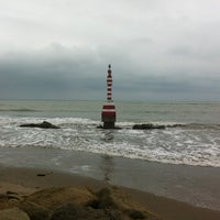 Photo taken at Playa de Canoa by Amie C. on 9/28/2012