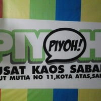 Photo taken at Piyoh Distro by Elli T. on 2/23/2013