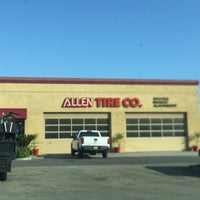 Photo taken at Allen Tire Company by Salvador F. on 6/30/2016
