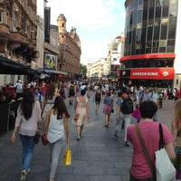 Photo taken at Leicester Square by Michael R. on 7/8/2013