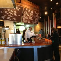 Photo taken at SoHi Grilled Sandwiches by Michael R. on 11/7/2012