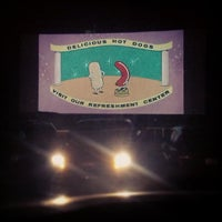 Photo taken at Wellfleet Drive-in and Cinemas by Colin K. on 7/21/2013