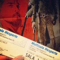 Photo taken at Cinema Hesperia by Valentina Z. on 1/28/2013