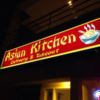 Photo taken at Asian Kitchen by Nick S. on 10/12/2013