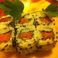 Photo taken at Tsuru Sushi all'Osteria by Daniela G. on 1/17/2013