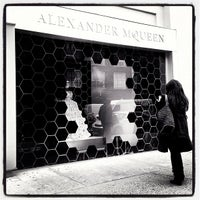 Photo taken at Alexander McQueen by Pao C. on 2/7/2013