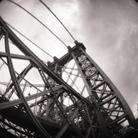 Photo taken at Williamsburg Bridge by Pao C. on 7/14/2013