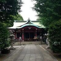 Photo taken at 市谷亀岡八幡宮 by Mureo K. on 6/10/2013