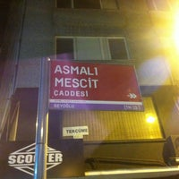 Photo taken at Asmalı Mescit by Aydın E. on 4/28/2013