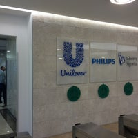 Photo taken at Unilever by Deniz A. on 2/26/2013