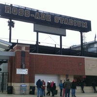 Photo taken at Ross-Ade Stadium by Thomas M. on 11/24/2012