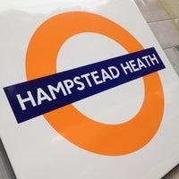 Photo taken at Hampstead Heath London Overground Station by Aleksejs J. on 10/21/2012